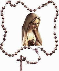 Maria med rosenkrans