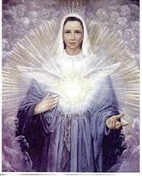 Jomfru Maria med due